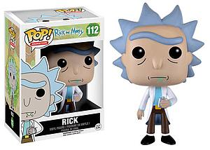 Pop! Animation Rick and Morty Vinyl Figure Rick #112