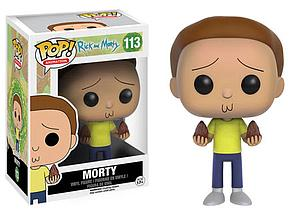 Pop! Animation Rick and Morty Vinyl Figure Morty #113
