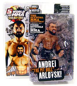 "Round 5 World of MMA Champions UFC Series 3 Deluxe: Andrei ""The Pit Bull"" Arlovski"