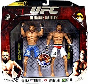 UFC Ultimate Fighting Championship Series 1 Deluxe 2-Pack: Chuck Lidell vs. Wanderlei Silva (UFC 79)