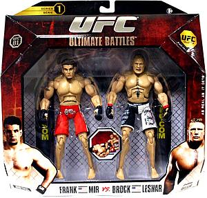 UFC Ultimate Fighting Championship Series 1 Deluxe 2-Pack: Brock Lesnar vs. Frank Mir (UFC 81)