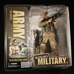 Military Redeployed Series 2: Army Infantry