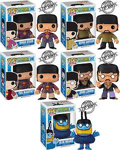Pop! Music The Beatles Yellow Submarine Vinyl Figure Set of 5 (Retired)