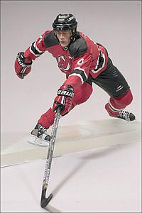 NHL Sportspicks Series 3 Scott Stevens (New Jersey Devils) Red Jersey