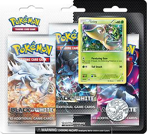 Pokemon Trading Card Game Black & White Base Set: 3-Pack Blister