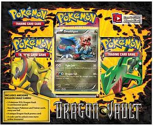 Pokemon Trading Card Game Black & White Dragon's Vault: 3-Pack Blister