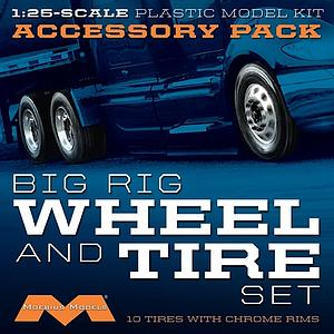 Semi Wheels/Tires [10-Pack] (1010)
