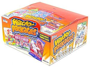 Topps Wacky Packages Series 10 Trading Card Stickers: Retail Box (24 Packs)