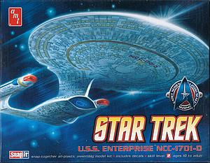 Star Trek USS Enterprise 1701-D (662)