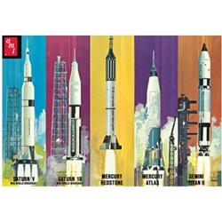 Man In Space Rocket Set (700)