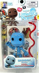 Little Big Planet 4 Inch Series 2: Sackboy (Blue Denim)