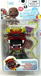 Little Big Planet 4 Inch Series 2: Sackboy (Dragon Mask)