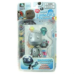 Little Big Planet 4 Inch Series 3: Sackboy (Platinum)