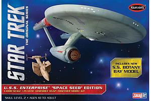 Star Trek: The Original USS Enterprise Space Seed Edition (908)