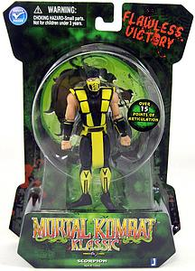 "Mortal Kombat Klassic Series 1 4"" Scorpion"