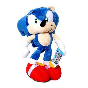"Sega Sonic the Hedgehog Plush Sonic (10"")"