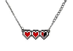 Zelda Necklace Heart Health Gauge