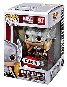 Pop! Marvel Vinyl Bobble-Head Thor (Secret Wars) #97 Marvel Collector Corps Exclusive