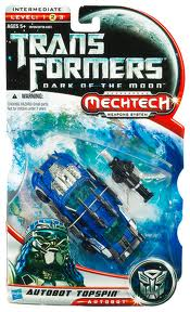 Transformers Dark of the Moon Series Deluxe Class Topspin