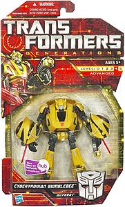 Transformers Generations Series Deluxe Class Cybertronian Bumblebee