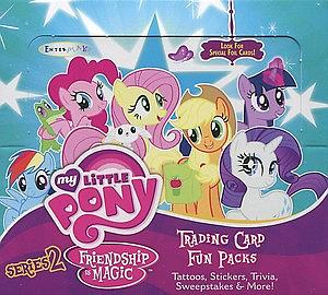 My Little Pony Friendship is Magic Trading Cards Series 2: Hobby Box (30 Packs)
