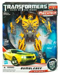 Transformers Dark of the Moon Series Leader Class Battle Ops Bumblebee