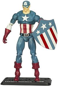 "Marvel Universe 3 3/4"" 2010 Wave 2: #8 Captain America (Classic)"