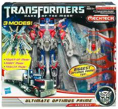 Transformers Dark of the Moon Series Leader Class Ultimate Optimus Prime