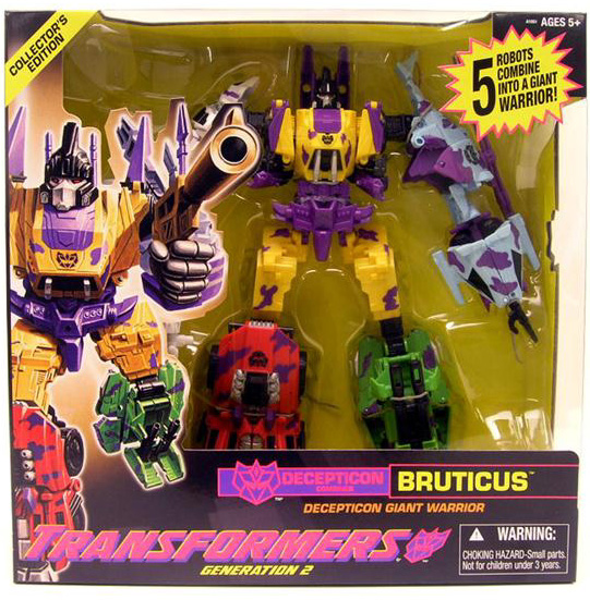 Transformers Generation 2 Series Leader Class Bruticus