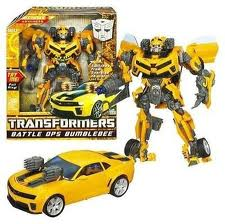 Transformers Hunt for the Decepticons Series Leader Class Battle Ops Bumblebee