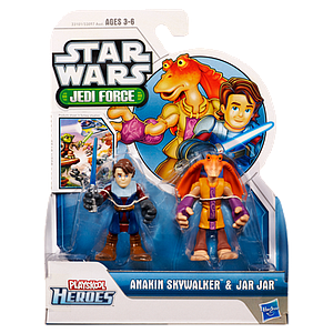 Star Wars Jedi Force Heroes: Anakin Skywalker & Jar Jar