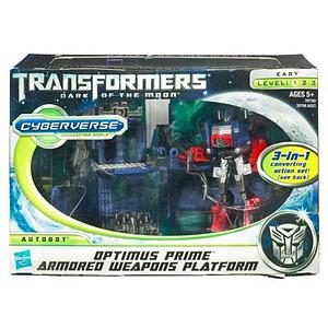 Transformers Dark of the Moon Series Legion Class Optimus Prime Armored Weapons Platform