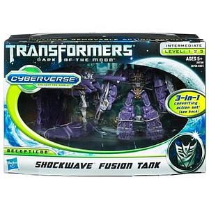 Transformers Dark of the Moon Series Legion Class Shockwave Fusion Tank