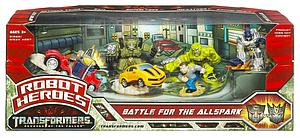 Transformers Robot Heroes Series Class Battle for the Allspark