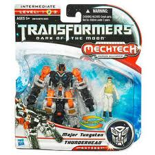 Transformers Dark of the Moon Series Scout Class Thunderhead & Major Tungsten