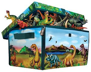 Neat-Oh! ZipBin Dinosaur Medium Play Set