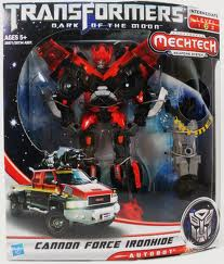 Transformers Dark of the Moon Series Voyager Class Cannon Force Ironhide
