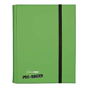 9-Pocket Pro-Binder: Light Green