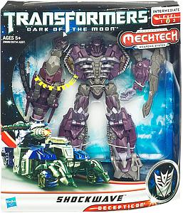 Transformers Dark of the Moon Series Voyager Class Shockwave