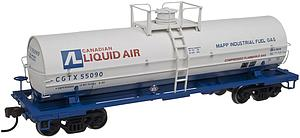 11000 Gallon Tank Car without Platform - Canadian Liquid Air (20002645)