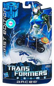 Transformers Prime Deluxe Class: Arcee