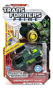 Transformers Prime Deluxe Class: Sergeant Kup (Canadian Packaging)