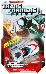 Transformers Prime Deluxe Class: Wheeljack (Canadian Packaging)