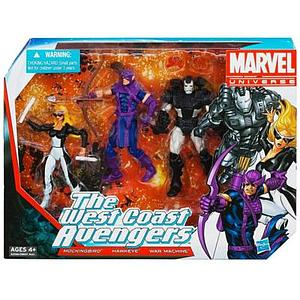 "Marvel Universe 3 3/4"" 2013 Box Sets: West Coast Avengers"