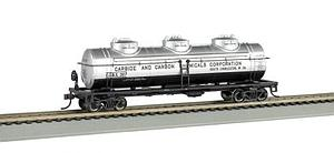 40' 3-Dome Tank Car, Carbide & Carbon Chemicals (17144)