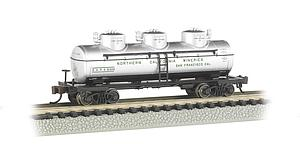 3-Dome Tank Car - Northern California Wineries (17153)