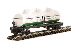 40' 3 Dome Tank Car - Quaker State (70187)