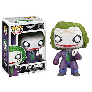 Pop! Heroes DC Batman The Dark Knight Vinyl Figure The Joker #36