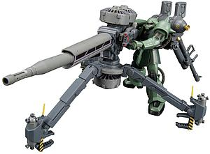 Gundam High Grade Thunderbolt 1/144 Scale Model Kit: MS-06 Zaku II + Big Gun Set (Gundam Thunderbolt Ver.)