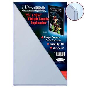 "7 1/8"" x 10 1/2"" Thick Comic Toploader"